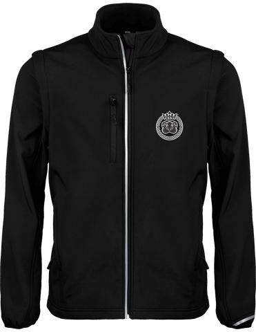 Mens Official Don Lions Pride Sporty Soft Shell Jacket - Black / Xs