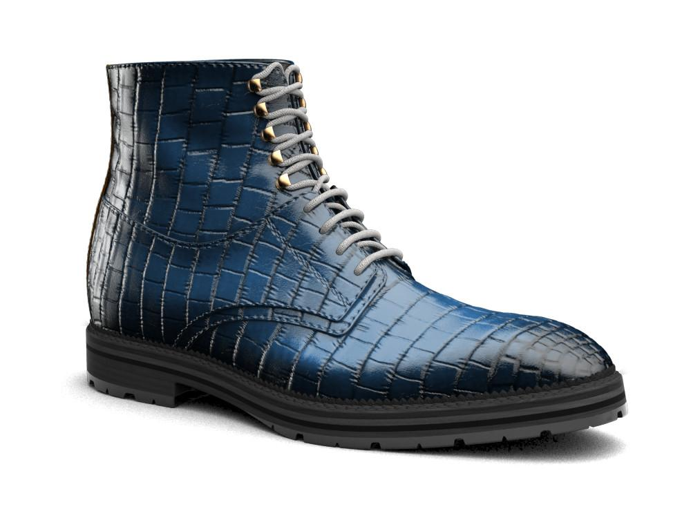 Adriano X Don Official Nile Crocodile Leather Boots - Shoes