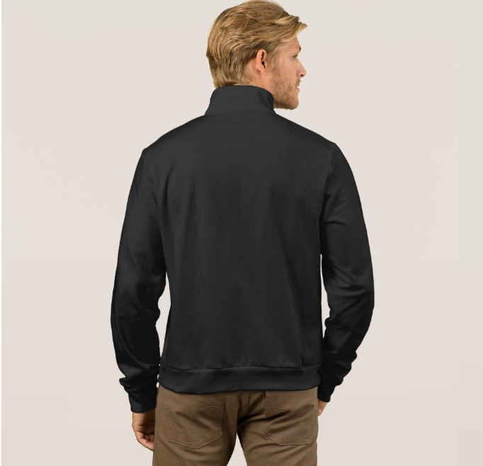 Mens Official Don Black Soft-Shell Jacket - Mens