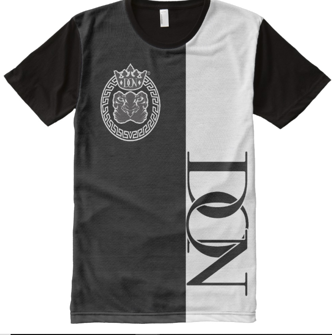 Mens Official Don Lions Pride Two-Tone T-Shirt - Mens