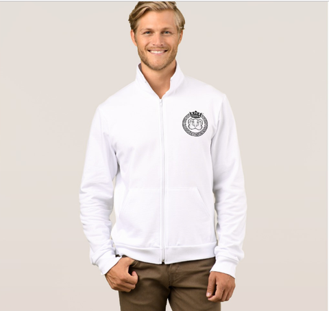 Mens Official Don White Soft-Shell Jacket - Mens