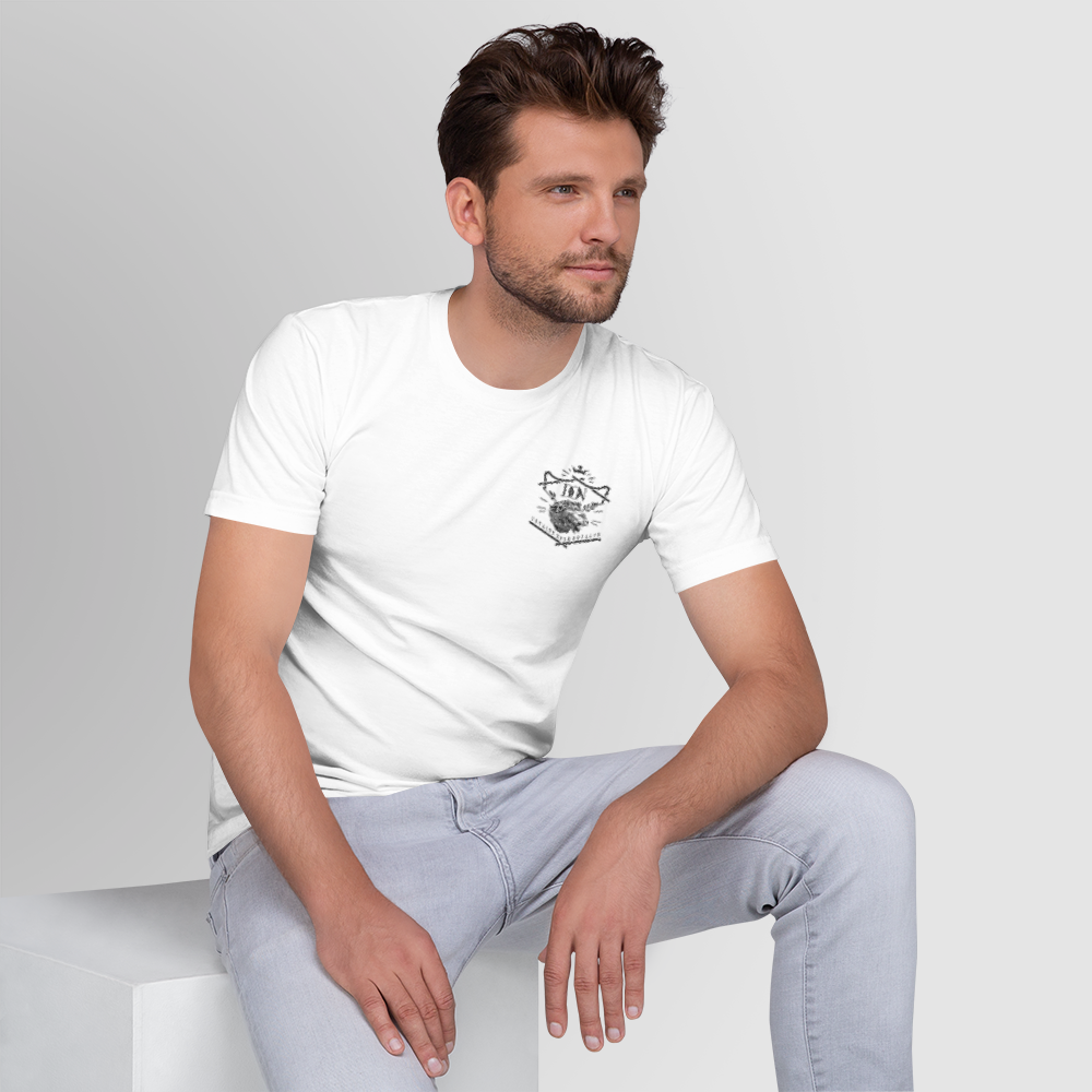Men's Official DON Loyalty Over Royalty White T-shirt