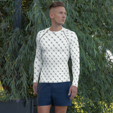 Men's Official DON Signature White Rash-Guard