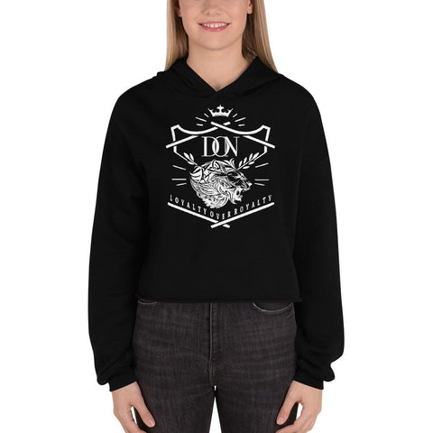 Womens Official Don Crop-Hoodie - S