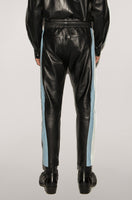 LEATHER BRAND PANTS