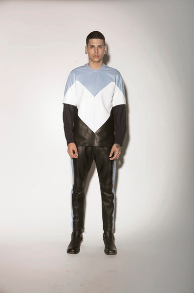 LEATHER TOP DETACH SLEEVES