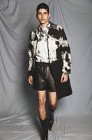 TIE-DYE DETACHABLE COAT