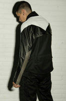 GILET LEATHER SLEEVES