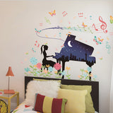 Стикери за стена за момичешка стаяFemale Dormitory Wall Sticker Diy Creative Poster Bedroom Wall Paper Room Decoration