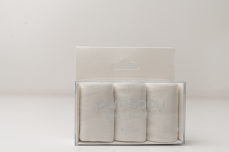 Suite Set x Purebaby Essential sock pack