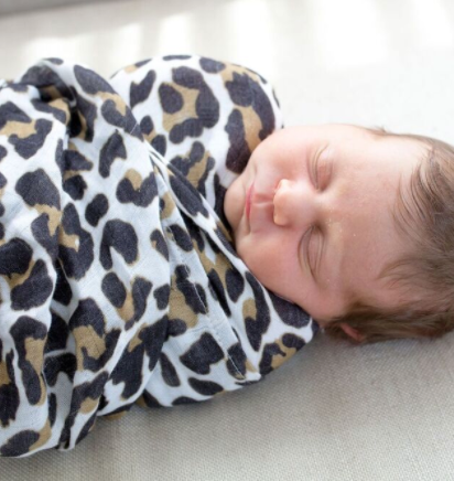 The Suite Set x Bellies and Beyond Leopard Love Wrap