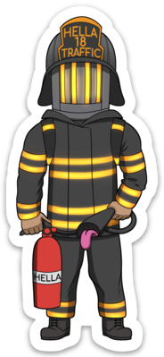 Firefighter - Male