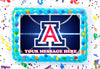 Arizona Wildcats Edible Image Cake Topper Personalized Frosting Icing Sheet Custom
