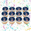 Detroit Tigers Edible Cupcake Toppers (12 Images) Cake Image Icing Sugar Sheet