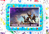 Fortnite Edible Image Cake Topper Personalized Birthday Sheet Decoration Custom Party Frosting Transfer Fondant