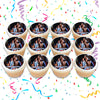 Friends Edible Cupcake Toppers (12 Images) Cake Image Icing Sugar Sheet