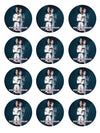 James Bond Edible Cupcake Toppers (12 Images) Cake Image Icing Sugar Sheet