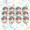 Golden Girls Edible Cupcake Toppers (12 Images) Cake Image Icing Sugar Sheet