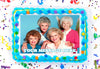 Golden Girls Edible Image Cake Topper Personalized Birthday Sheet Decoration Custom Party Frosting Transfer Fondant