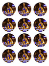 Kevin Durant Edible Cupcake Toppers (12 Images) Cake Image Icing Sugar Sheet