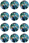Percy Jackson Edible Cupcake Toppers (12 Images) Cake Image Icing Sugar Sheet Edible Cake Images