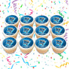 Middle Tennessee State University Edible Cupcake Toppers (12 Images) Cake Image Icing Sugar Sheet