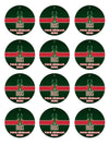 Milwaukee Bucks Edible Cupcake Toppers (12 Images) Cake Image Icing Sugar Sheet