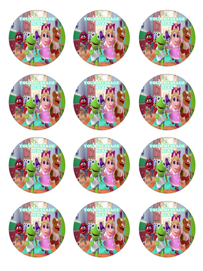 Muppet Babies Edible Cupcake Toppers (12 Images) Cake ...