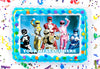 Power Rangers Edible Image Cake Topper Personalized Birthday Sheet Decoration Custom Party Frosting Transfer Fondant