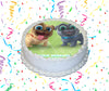Puppy Dog Pals Edible Image Cake Topper Personalized Birthday Sheet Custom Frosting Round Circle