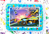 Rocket League Edible Image Cake Topper Personalized Birthday Sheet Decoration Custom Party Frosting Transfer Fondant