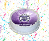 Sacramento Kings Edible Image Cake Topper Personalized Birthday Sheet Custom Frosting Round Circle