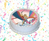 She-Ra Edible Image Cake Topper Personalized Birthday Sheet Custom Frosting Round Circle