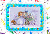 Sofia The First Edible Image Cake Topper Personalized Birthday Sheet Decoration Custom Party Frosting Transfer Fondant