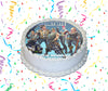 Fortnite Edible Image Cake Topper Personalized Birthday Sheet Custom Frosting Round Circle