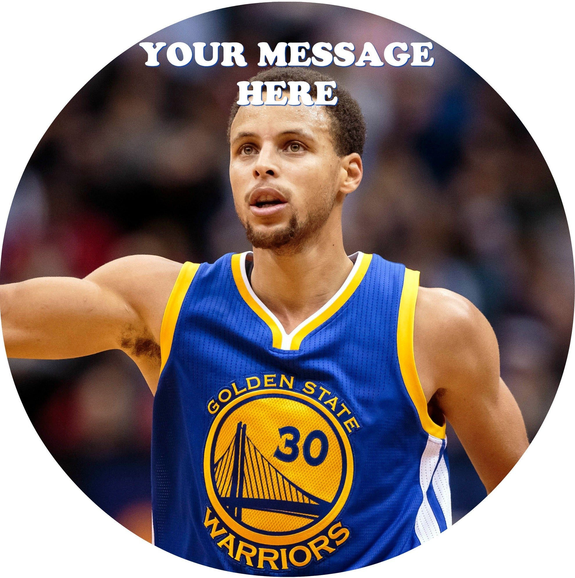 Stephen Curry Edible Image Cake Topper Personalized ...