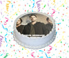 Supernatural Edible Image Cake Topper Personalized Birthday Sheet Custom Frosting Round Circle