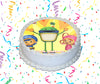 Team Umizoomi Edible Image Cake Topper Personalized Birthday Sheet Custom Frosting Round Circle