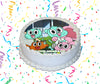 The Amazing World Of Gumball Edible Image Cake Topper Personalized Birthday Sheet Custom Frosting Round Circle