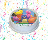 The Backyardigans Edible Image Cake Topper Personalized Birthday Sheet Custom Frosting Round Circle