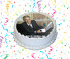 The Ellen DeGeneres Show Edible Image Cake Topper Personalized Birthday Sheet Custom Frosting Round Circle