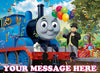 Thomas & Friends Edible Image Cake Topper Personalized Birthday Sheet Decoration Custom Party Frosting Transfer Fondant