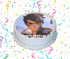 Tracer Edible Image Cake Topper Personalized Birthday Sheet Custom Frosting Round Circle