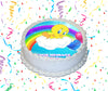 Tweety Edible Image Cake Topper Personalized Birthday Sheet Custom Frosting Round Circle