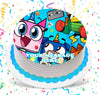 Unikitty Edible Image Cake Topper Personalized Birthday Sheet Custom Frosting Round Circle