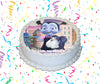 Vampirina Edible Image Cake Topper Personalized Birthday Sheet Custom Frosting Round Circle