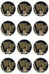 Wake Forest Demon Deacons Edible Cupcake Toppers (12 Images) Cake Image Icing Sugar Sheet Edible Cake Images