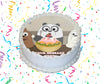 We Bare Bears Edible Image Cake Topper Personalized Birthday Sheet Custom Frosting Round Circle