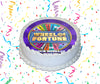 Wheel Of Fortune Edible Image Cake Topper Personalized Birthday Sheet Custom Frosting Round Circle