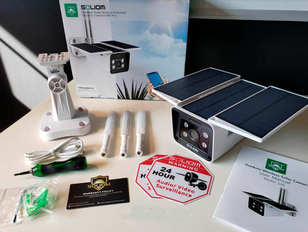 Best Solar Powered Wireless Security Camera Reviewed by Paul Iddon